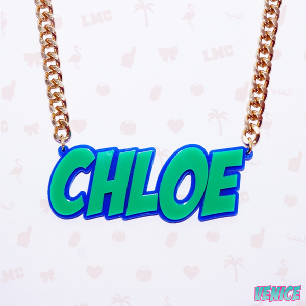 Chloe Name Necklace