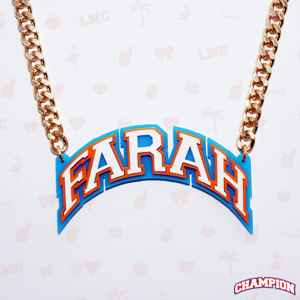 Farah Name Necklace