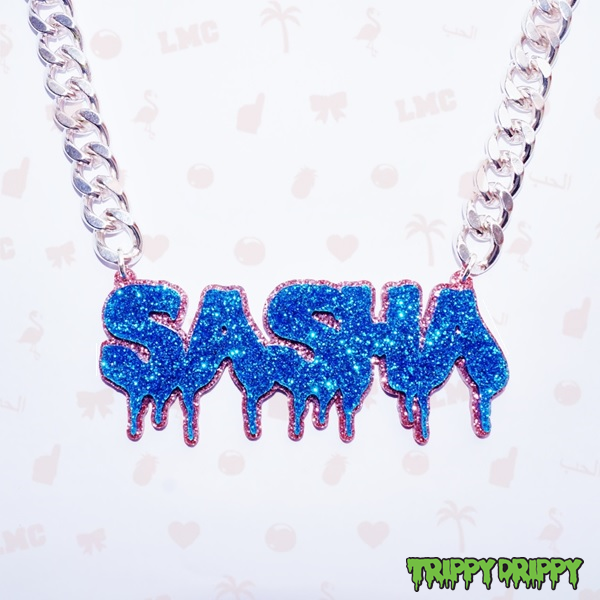 Sasha Name Necklace