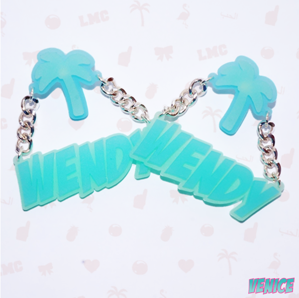 Wendy Name Earrings