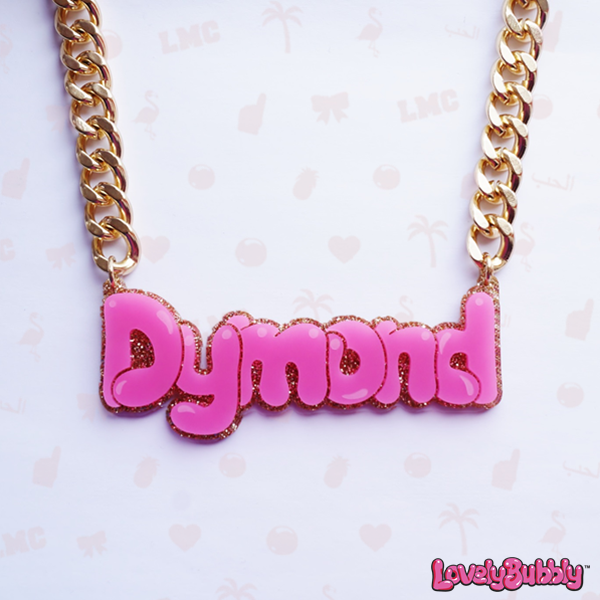 Dymond Name Necklace