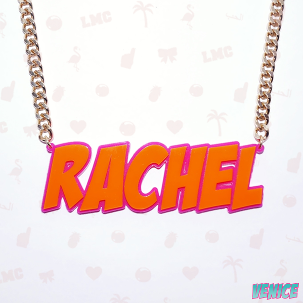 Rachel Name Necklace
