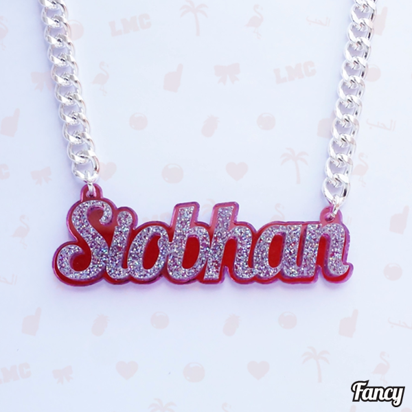 Siobhan Bell Name Necklace