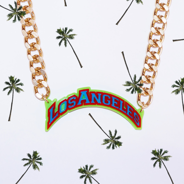 Los Angeles Name Necklace - Love My Custom