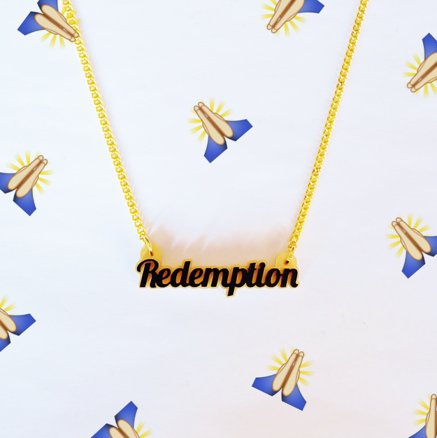 Redemption Name Necklace - Love My Custom