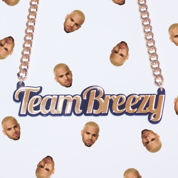 Team Breezy Name Necklace - Love My Custom